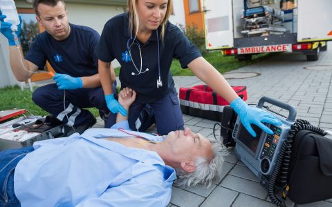 Paramedic Class in San Luis!